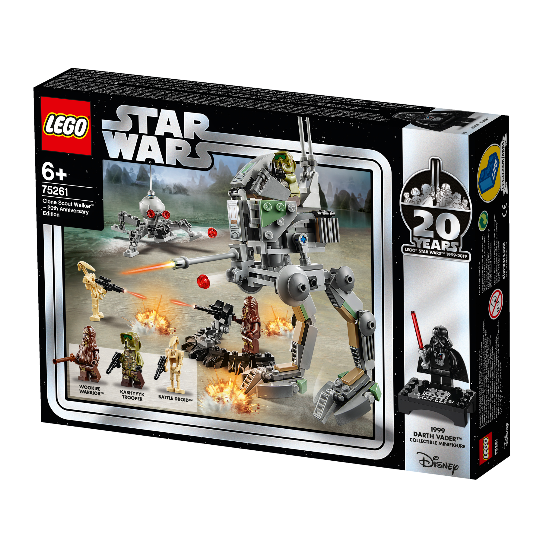 LEGO CLONE SCOUT WALKER - 20TH ANNIVERSARY EDITION - 75261