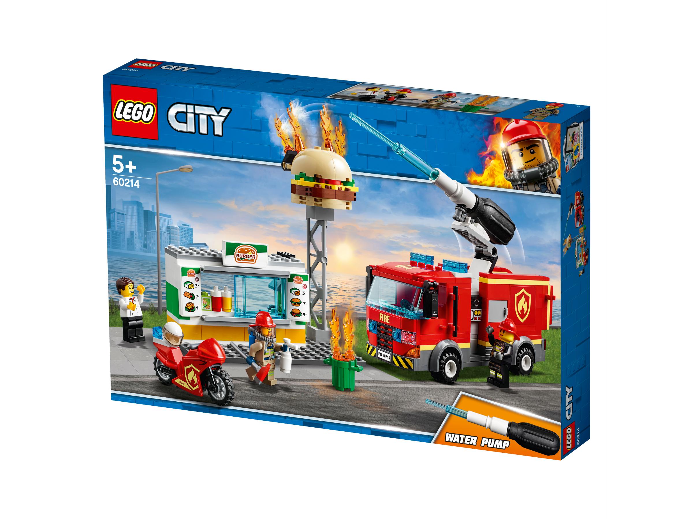 LEGO BURGER BAR FIRE RESCUE - 60214
