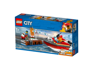 LEGO DOCK SIDE FIRE - 60213