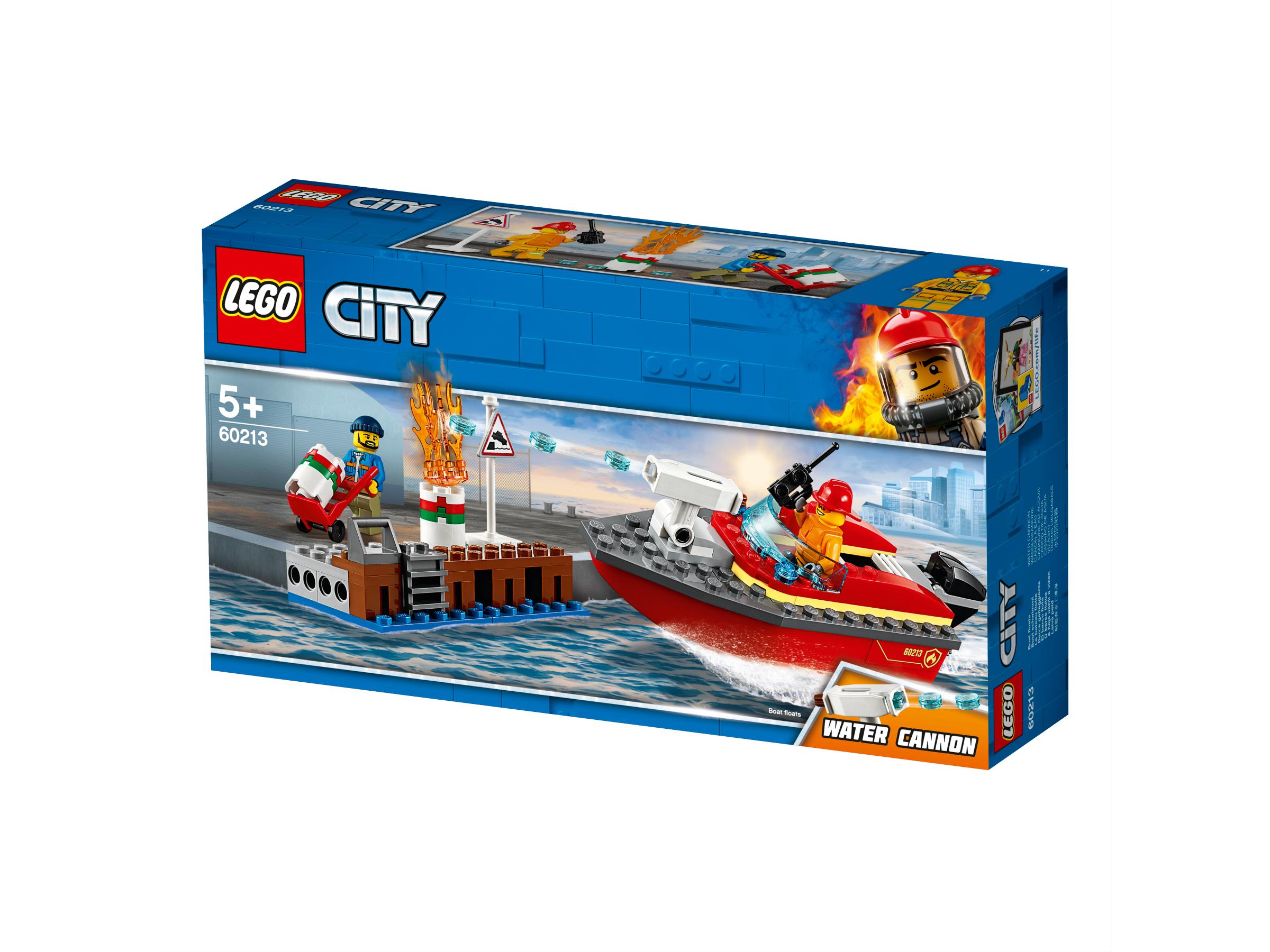 LEGO DOCK SIDE FIRE - 60213