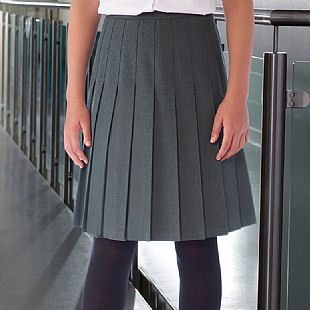 2df570786 Banner Stitched Down Pleated School Skirt (Davenport )