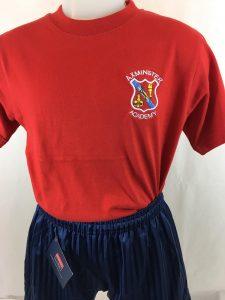 Axminster Primary Academy School PE T.Shirt