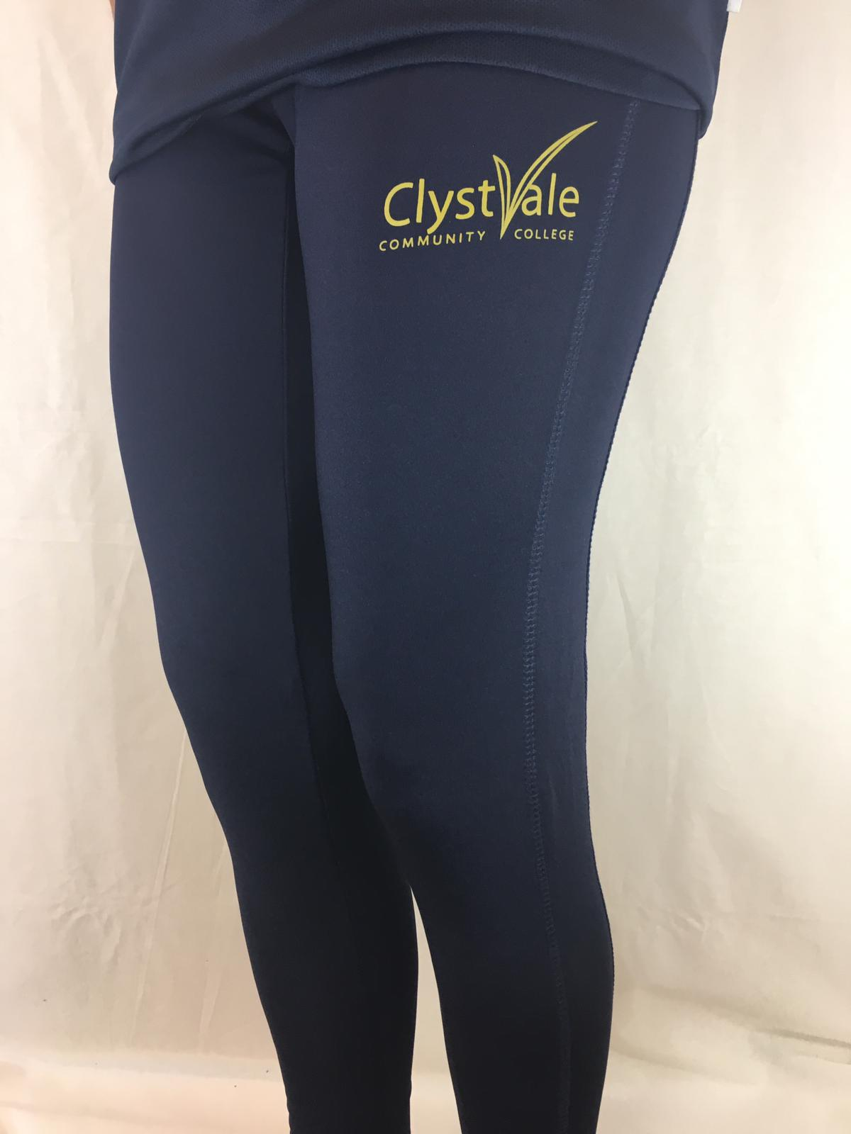 Clyst Vale community College Sports Leggings