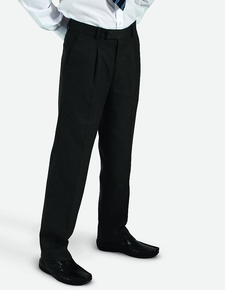 Banner Blue Max Elastic Back Pleated School Trouser (Putney)