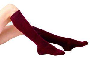 Smooth Knit Knee High Sock - 2 Pair Pack (Pex Graduate)