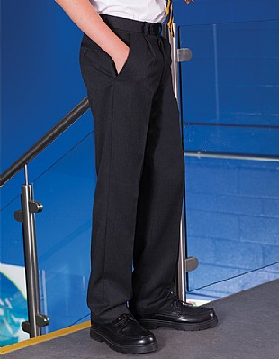 Banner Elastic Back Junior Flat Front School Trouser (Fulham)