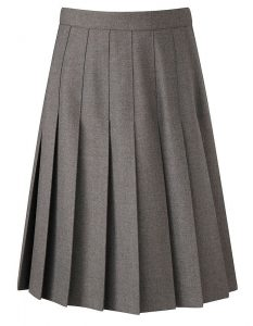 Banner Stitched Down Pleated School Skirt (Davenport )