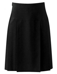 Banner Pleated School Skirt (Henley)