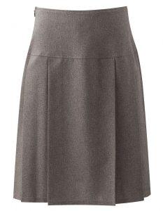 Banner Pleated School Skirt (Henley)
