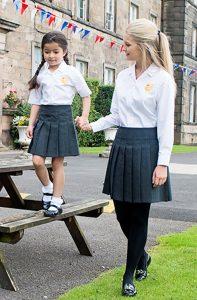 Trutex Junior Stitch Down Pleat School Skirt