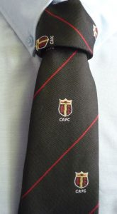 Cullompton Rugby Club Tie