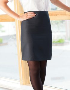 Designer Straight School Skirt