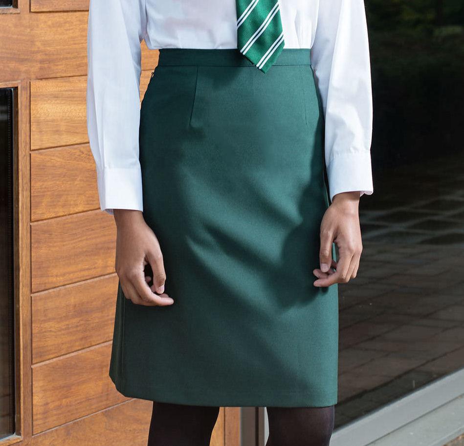 Trutex Back Vent Straight Skirt for School