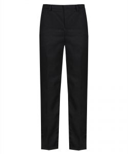 Elastic Back Slim Fit School Trouser