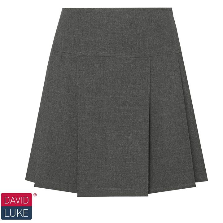 Drop Waist Pleated School Skirt DL973