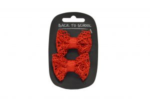 Lacy Bows (2 pack)