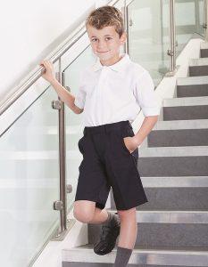 Banner Elasticated Back School Shorts - Essex