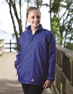 School Mistral Reversible Fleece Jacket - Blue Max