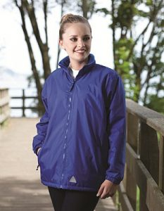 School Mistral Reversible Fleece Jacket - Blue Max
