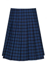 Trutex Stitch Down Pleat Tartan Skirt