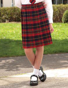 Banner Tartan Skirt (Skye)