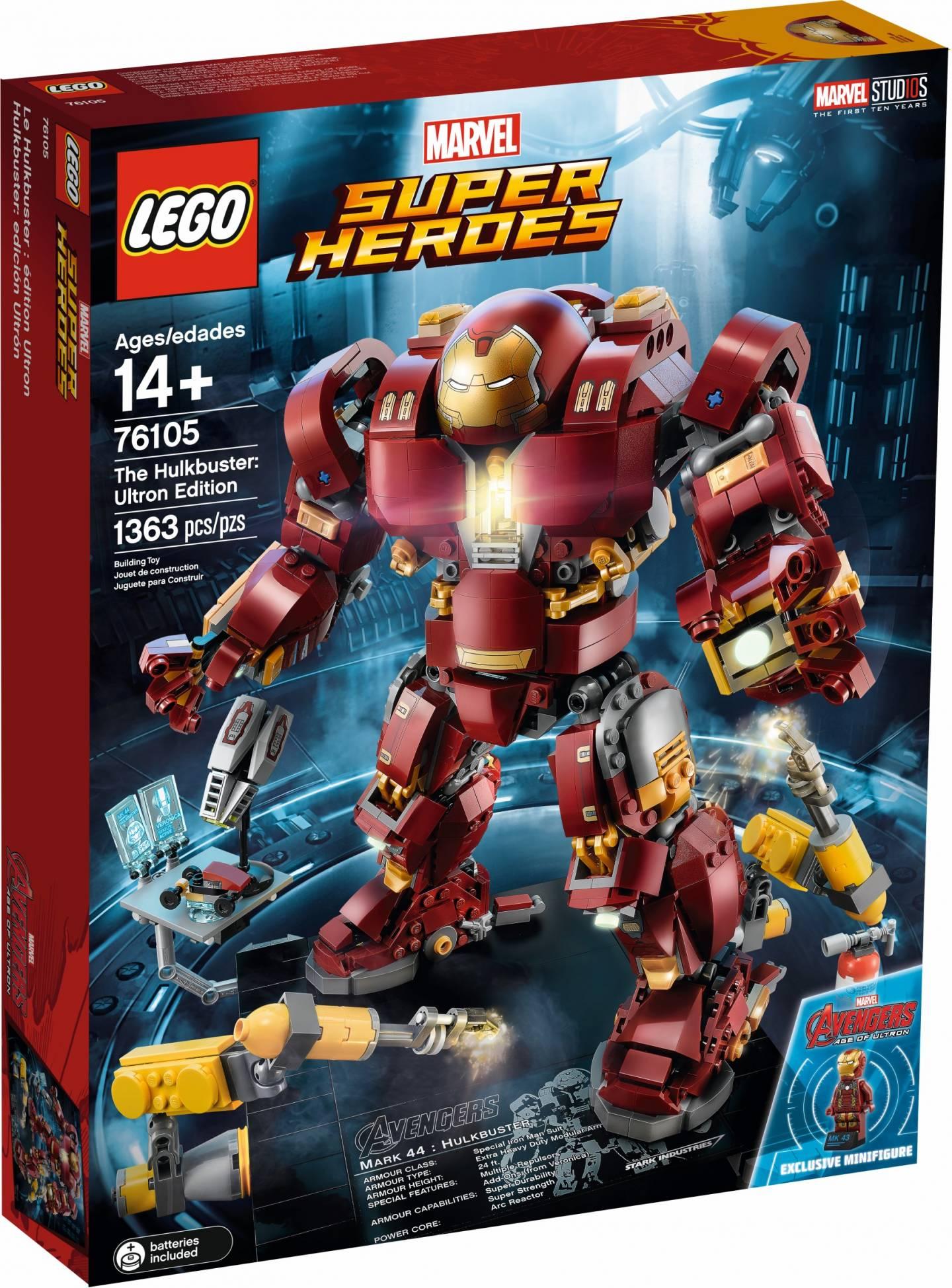 LEGO THE HULKBUSTER: ULTRON EDITION - 76105