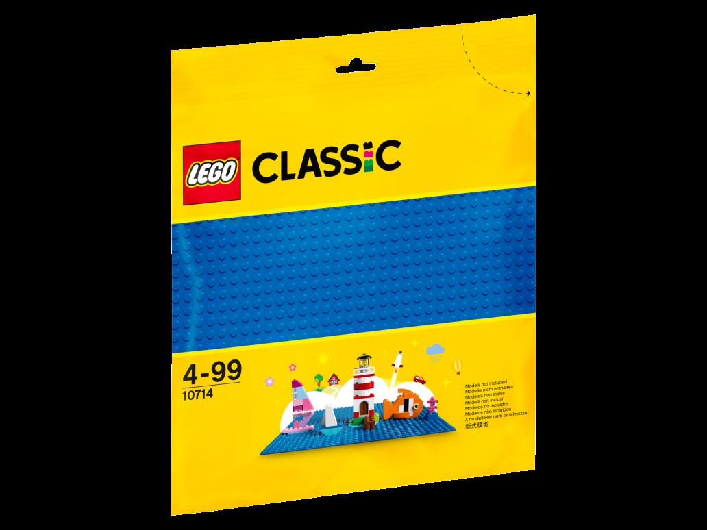 LEGO BLUE BASEPLATE - 10714
