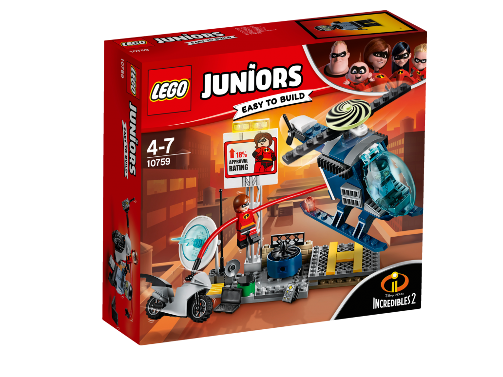 LEGO ELASTIGIRL'S ROOFTOP PURSUIT - 10759