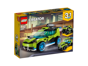 LEGO ROCKET RALLY CAR - 31074