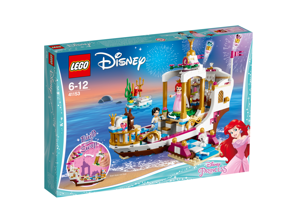LEGO ARIELS ROYAL CELEBRATION BOAT - 41153
