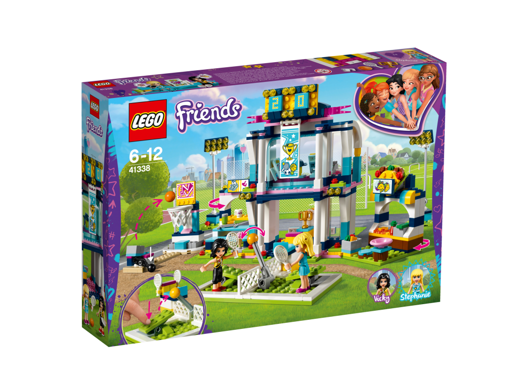 LEGO STEPHANIES SPORTS ARENA - 41338