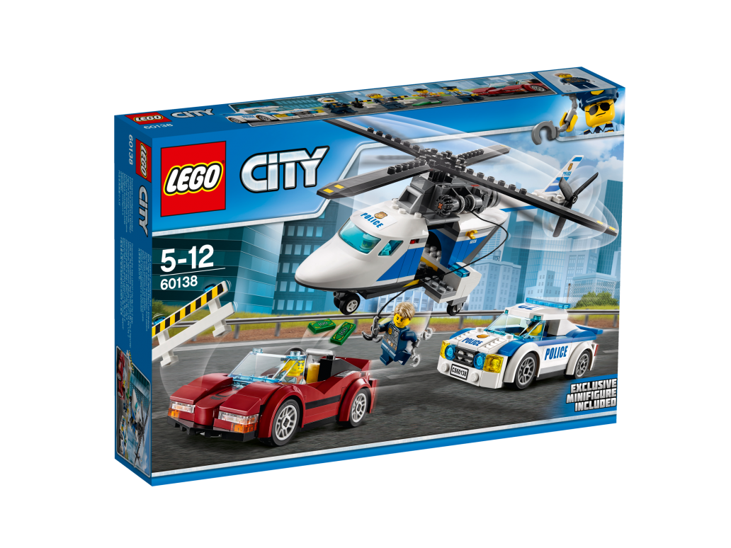 LEGO HIGH-SPEED CHASE - 60138