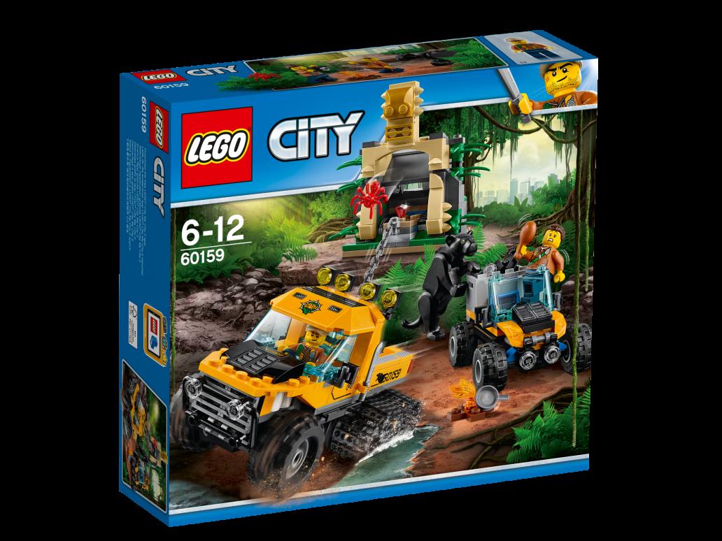LEGO JUNGLE HALFTRACK MISSION - 60159