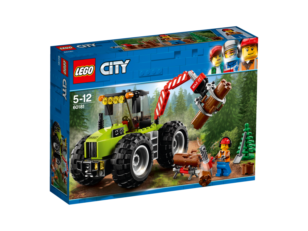 LEGO FOREST TRACTOR - 60181