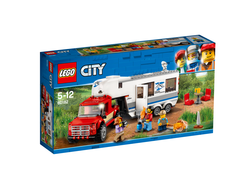 LEGO PICKUP & CARAVAN - 60182