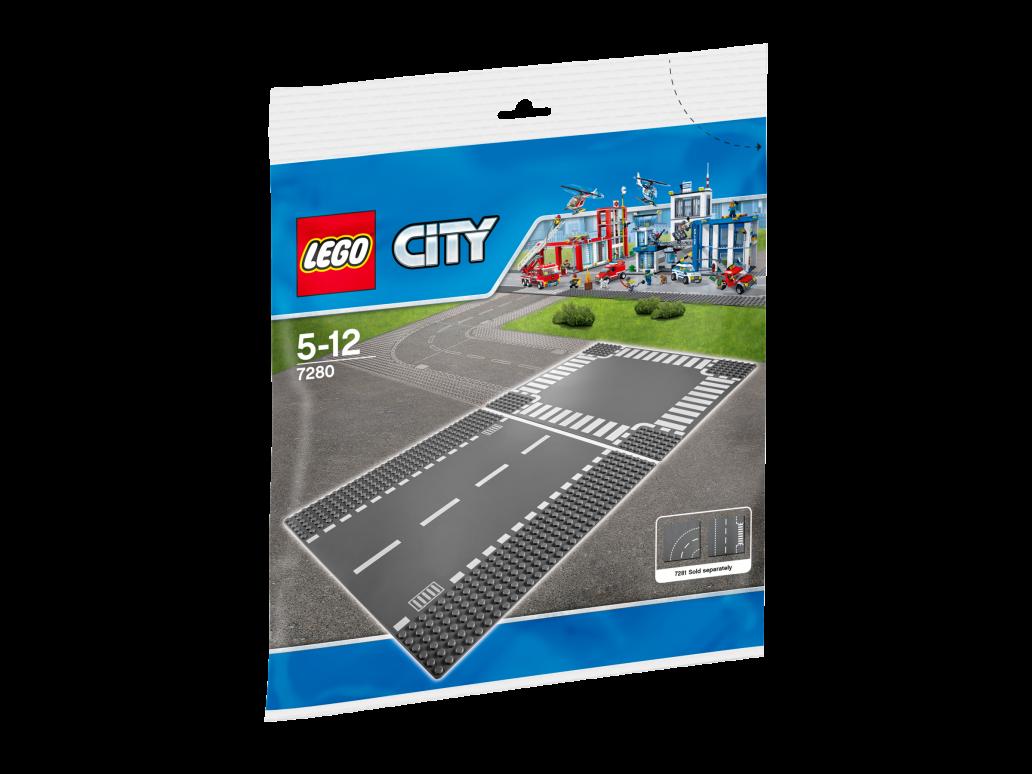 LEGO 7280 STRAIGHT & CROSSROADS - 7280