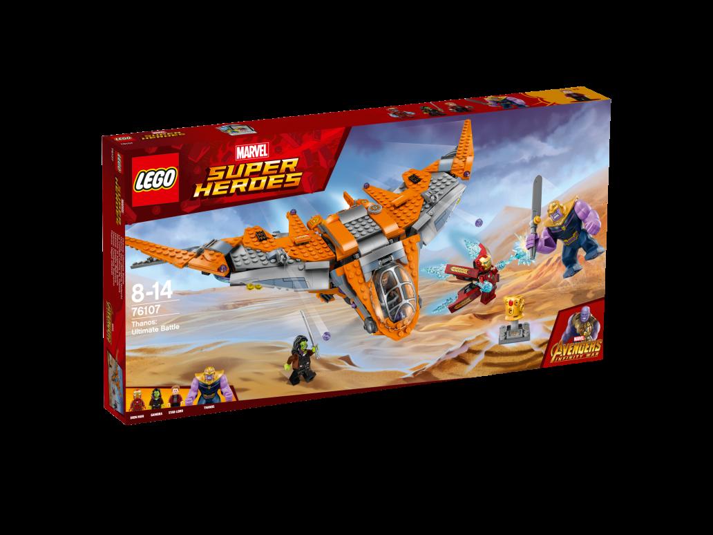 LEGO THANOS: ULTIMATE BATTLE - 76107