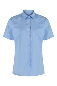 Short Sleeve Non-Iron School Blouse -Twinpack (Trutex)