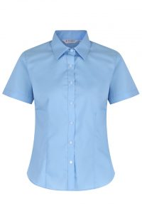 Trutex Short Sleeve Fitted Non Iron School Blouse