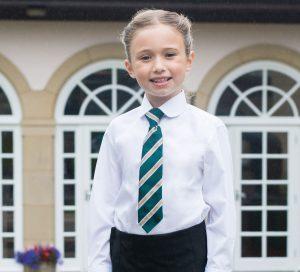 Long Sleeve Non Iron Katie Collar School Blouse -Twinpack (Trutex)