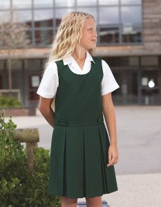 Banner Double Box Pleat School Pinafore (Tenby)