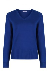Performa Girls Cotton V-Neck Jumper