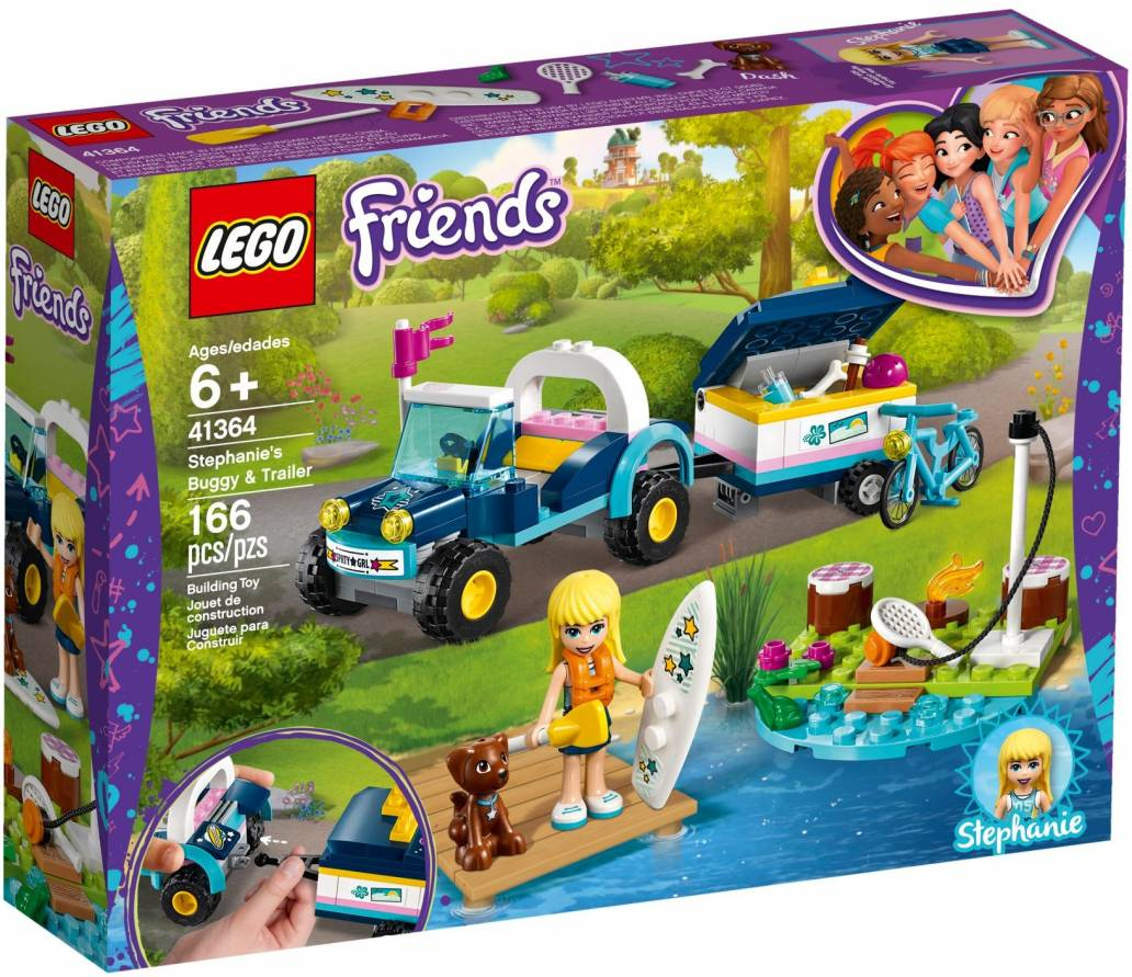 LEGO STEPHANIE'S BUGGY & TRAILER - 41364
