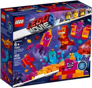 LEGO QUEEN WATEVRAS BUILD WHATEVER BOX - 70825