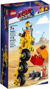 LEGO EMMETS THRICYCLE! - 70823