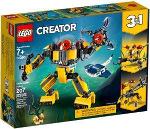 LEGO UNDERWATER ROBOT - 31090