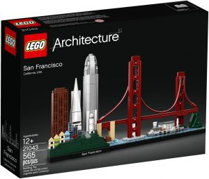LEGO SAN FRANCISCO - 21043