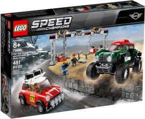 LEGO MINI 1967 MONTECARLO & 2018 DAKAR - 75894