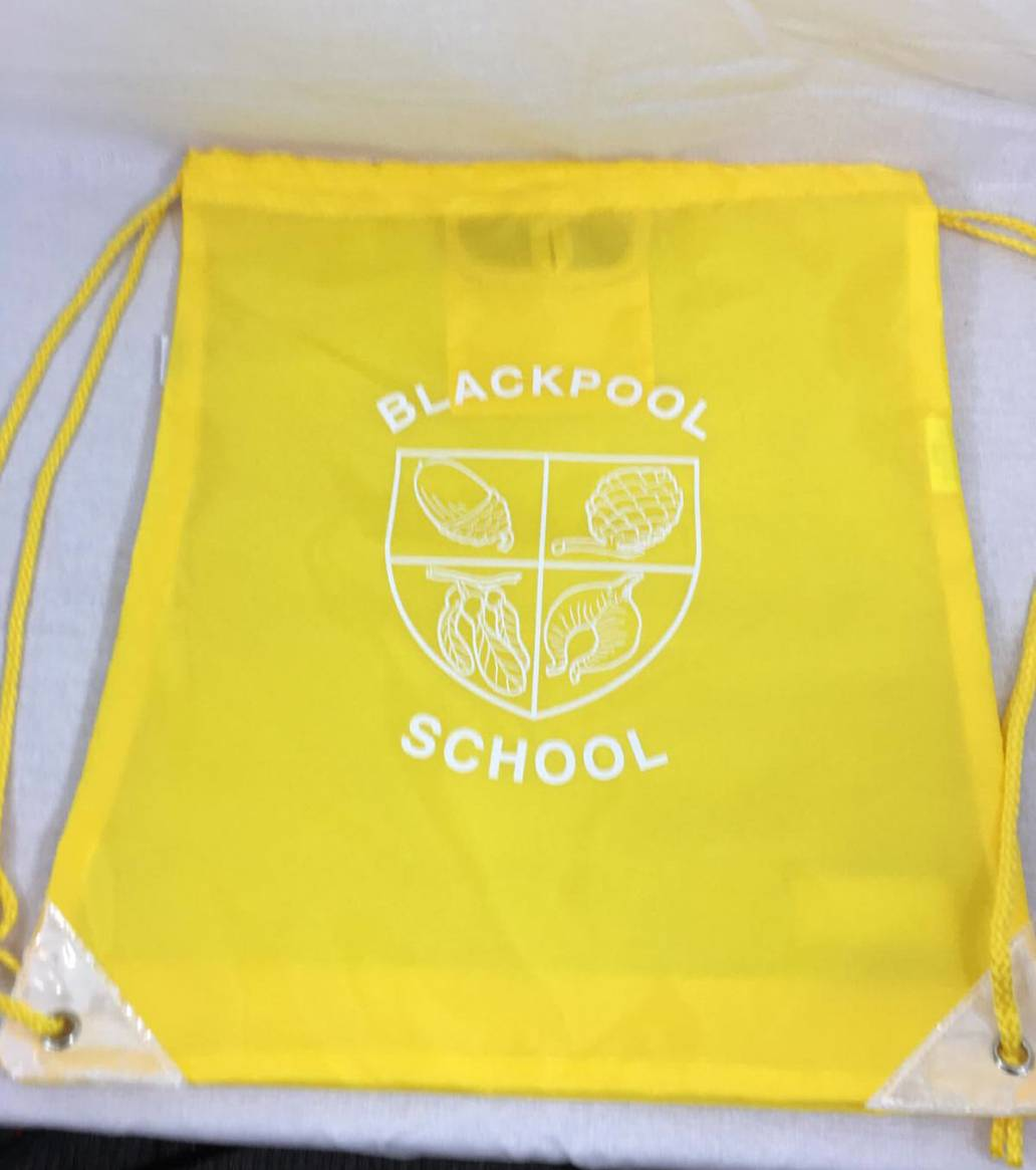 Blackpool Primary PE Bag