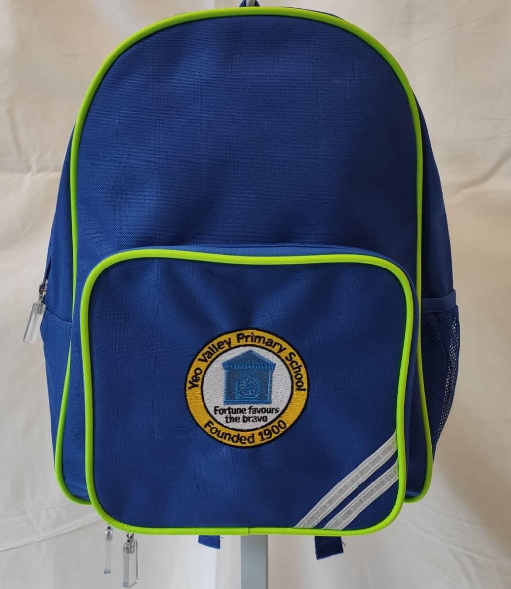 Yeo Valley Primary School Backpack